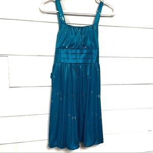 Girl child blue formal dress